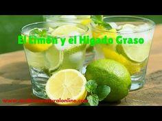 EL LIMON Y EL HIGADO GRASO - FORTALECE, REGENERA, PURIFICA Y DESINTOXICA EL HIGADO - YouTube