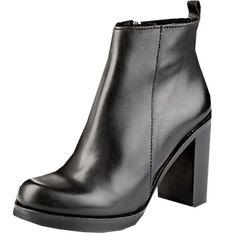 69fa089d31a2 Stiefeletten Schwarz Absatz, Schuhe Absatz, Blockabsatz Schuhe,  Stiefeletten Absatz, Schwarze Stiefeletten,