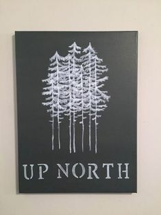 Hey, I found this really awesome Etsy listing at https://www.etsy.com/listing/261531268/up-north-minnesota-canvas