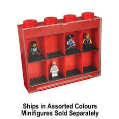 LEGO Small Minifigure Display Case Assorted