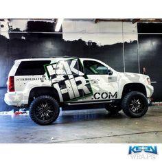 Stunning custom commercial wrap in 3M IJ180Cv3 & 8518. Thanks @KeenWraps