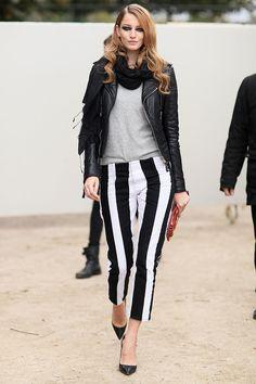 El pantalon al tobillo - Street style - París