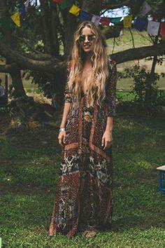 Stylish bohemian boho chic outfits style ideas 15