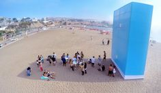 Aimed at drawing in sun-loving folk who could do with some respite, ad agency Happiness Anywhere has installed towering sun shades in Peru alongside a free Wi-Fi network that only functions when the users are in the shadows.