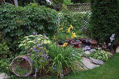 Evergreen Gardens: Corner Pond