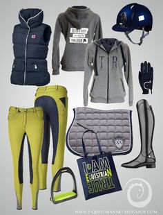 Frozen lime riding apparel. Only for True Equestrians ;)