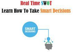 Real time SWOT, Learn how to take smart decisions.
