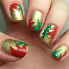 christmas by teoqeg #nail #nails #nailart