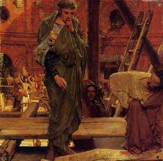 Lawrence Alma-Tadema - Architecture in Ancient Rome