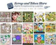 ☘️ Many Great New Products Are Waiting for You ☘️ Scrap and Tubes Store ~ digital scrapbook stocks ☘️ http://mailchi.mp/bd9d1bef617d/march-14