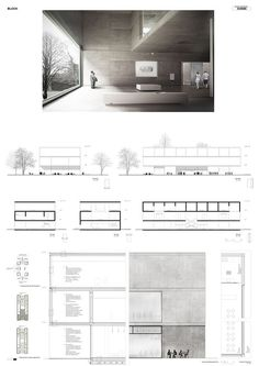Neubau eines Bauhaus Museums in Dessau - Neubau eines Bauhaus Museums in Dessau Layout en el lugar diy home decor verás que no necesitas bus - Museum Architecture, Architecture Panel, Architecture Graphics, Concept Architecture, Architecture Details, Modern Architecture, Architecture Diagrams, Architecture Presentation Board, Presentation Layout