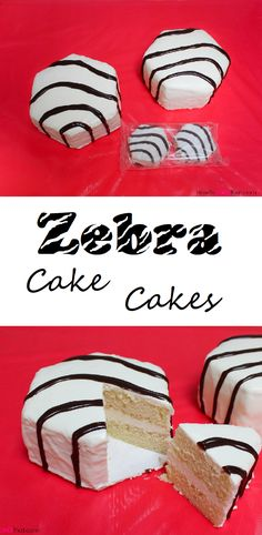 Little Debbie Zebra Cake Cakes Tutorial!