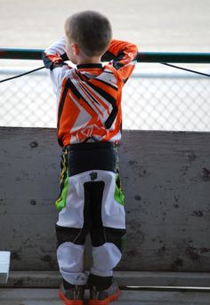 This will be my future kid! Lol I know I'll have a little moto guy who races