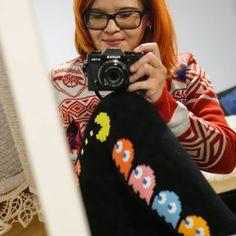 Prawilny sweter i świąteczny drop. #neiragra #neirakibicuje  #PacMan #Arsenal #Xmas #gaminggirl #football #supporter