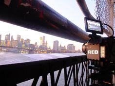 About me Manhattan Bridge, New York City, Train, Digital, Red, Technology, Tech, New York, Tecnologia