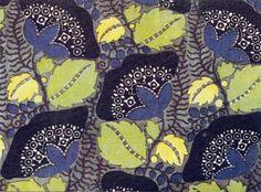 Wiener Werkstatte fabric designs, ca.1910