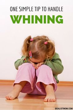 Whining kids? Here's one simple parenting tip to help fix their tone and attitude. Even better, the kids will love it! (Includes a free printable for download.)