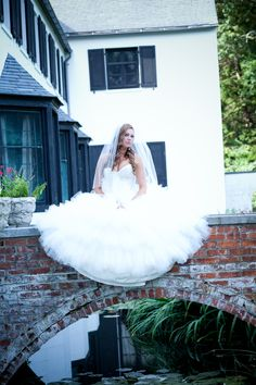 My wedding day ! Love love love my dress !