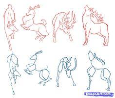 Drawing deer