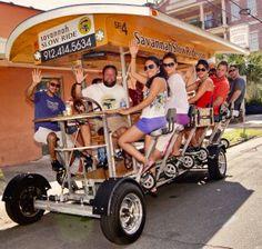 Savannah Slow Ride is the original, 100% pedal powered, eco-friendly way to see Savannah.