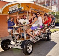 Savannah Slow Ride is the original, 100% pedal powered, eco-friendly way to see Savannah.