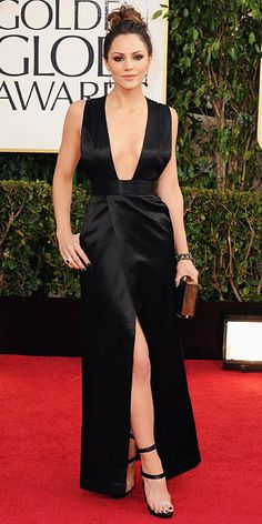 Katharine McPhee, 2013 - Riskiest Golden Globes Dresses - Golden Globes 2014 - Celebrity - InStyle