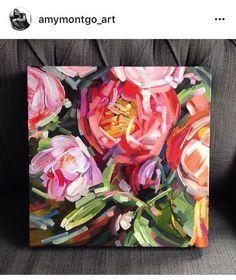 Painting flower acrylic art Ideas for 2019 Art Floral, Floral Flowers, Florals, Diy Flowers, Abstract Flowers, Abstract Art, Painting Flowers, Floral Paintings, Acrylic Art Paintings