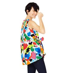 Trapeze Top in Freestyle - Kate Spade Saturday