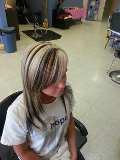 Highlights n lowlights New Hair Do, Dye My Hair, Love Hair, Cute Hair Colors, Pretty Hair Color, Blonde Highlights, Orange Highlights, Girly, Hair Health