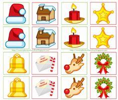 ★..Dulces Momentos..★: Memorama Navidad!!