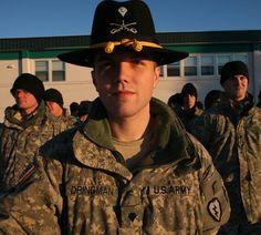 U.S. Army Cavalry Stetson Hat | Eine Landschaft, die Demut gebietet.....