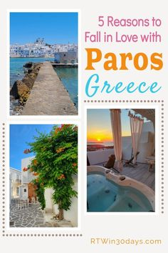 Searching for the best GREEK ISLANDS to visit for your next dream vacation? From gorgeous beaches and chic fishing villages to luxurious affordable hotels, the Greek Islands of Paros & Antiparos just might win your heart. Here's everything you need to know to plan your trip to Greece! Greek Islands To Visit, Best Greek Islands, Paros Greece, Affordable Hotels, Fishing Villages, Greece Travel, Plan Your Trip, Dream Vacations, Top Destinations