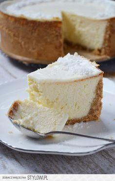 Polish Desserts, Polish Recipes, Just Desserts, Delicious Desserts, Yummy Food, Cheesecake Recipes, Dessert Recipes, Sweet Pastries, Dessert Bread