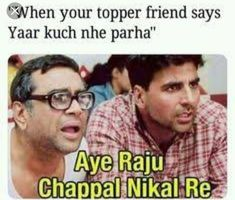 Tag those topper frnds🤣🤣🤣😂😂😂 Funny Jokes In Hindi, Very Funny Jokes, Funny Qoutes, Crazy Funny Memes, Really Funny Memes, Jokes Quotes, Funny Relatable Memes, Kid Jokes, Exam Quotes