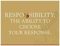 Responsibility...