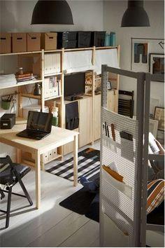 Aus Regalseitenwand selbst einen Raumteiler / Paravant bauen zB. IVAR von IKEA