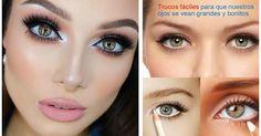 ¿Quieres agrandar tu mirada? ¡Ficha estos consejos de maquillaje y lo conseguirás fácilmente!