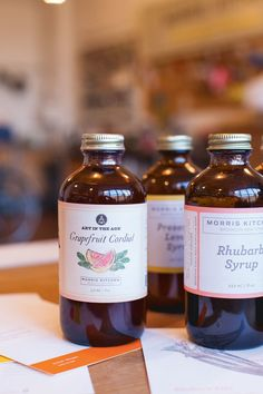 Morris Kitchen's Cocktail Syrups