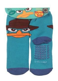 Calcetines antideslizantes Phineas y Ferb  Precio: 7.25€