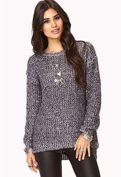 Cozy Marled Sweater | FOREVER 21