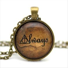 Deathly Hallows Always Harry Potter Necklace