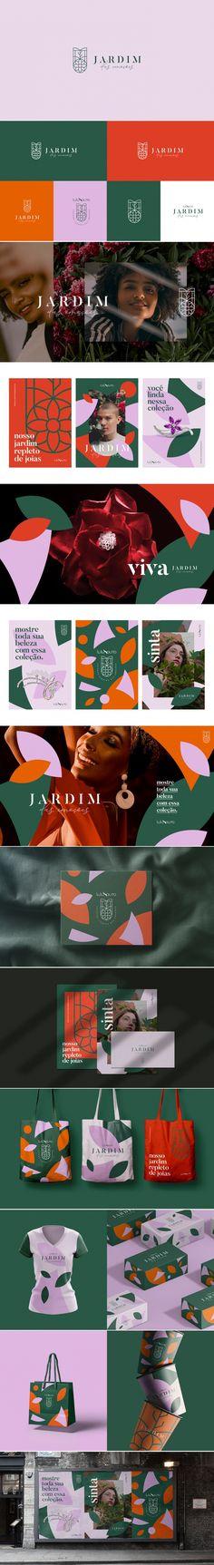 Jardim das Emoções branding by John Dias Brand Identity Design, Corporate Design, Branding Design, Branding Agency, Logo Branding, Logo Inspiration, Web Design, Graphic Design, Brand Packaging