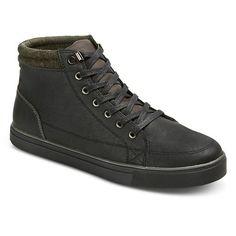 Men's Edmond High Top Sneakers - Black