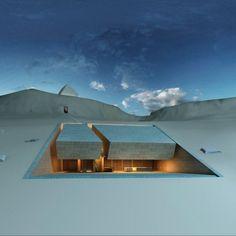 Blending. MZ Architects. Natural surrounding. Meditation House. Lebanese. Landscape.
