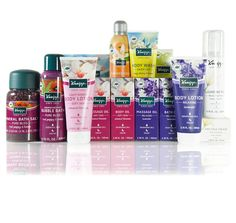 Kneipp Product Bundle Giveaway ($536 VALUE) http://www.freebiequeen13.net/newbeauty-daily-giveaways.html