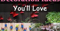 Brighten up your garden fence