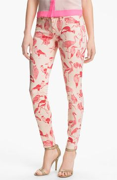 Ted Baker | London Print Stretch Jeans | Nordstrom