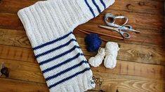 Cómo tejer un Jersey – Suéter básico de mangas largas en dos agujas