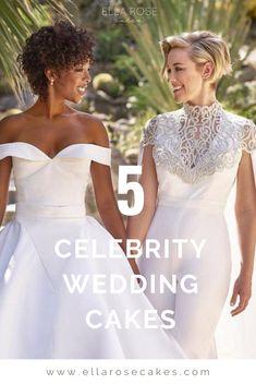 5 Celebrity Wedding Cakes to Inspire You Luxury Wedding, Destination Wedding, Wedding Venues, Great Gatsby Wedding, On Your Wedding Day, Nicole Johnson, Buttercream Wedding Cake, Hollywood Wedding, Cake Trends