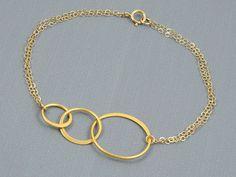 Gift for Best Friend Bracelets for Women Infinity Bracelet Gold Jewelry First Anniversary Gifts 25th Wedding Anniversary Gifts for Her